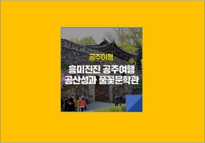 [e기자] 흥미진진 공주여행 :: 공산성과 풀꽃문학관