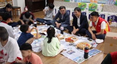 """경북지방우정청, 추석맞이 자매결연 보육원 찾아 사랑의 """"情""""나누기 행사실시"""