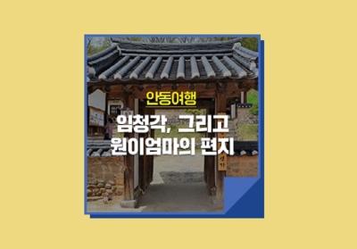 [e기자] 한국정신문화의 수도 안동을 만나다! 임청각, 그리고 원이엄마의 편지